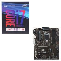 Intel Core i7-8086K Limited Edition, MSI Z370-A PRO, CPU/Motherboard Bundle