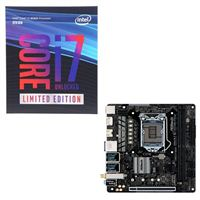 Intel Core i7-8086K Limited Edition, ASRock H370M-ITX AC, CPU/Motherboard Bundle