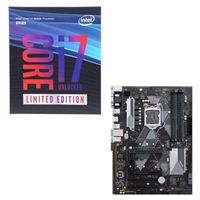 Intel Core i7-8086K Limited Edition, ASUS Prime B360 Plus, CPU/Motherboard Bundle