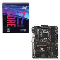 Intel Core i7-8700K, MSI Z370-A PRO, CPU/Motherboard Bundle