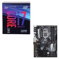 Intel Core i7-8700K, ASUS Prime B360 Plus, CPU/Motherboard Bundle
