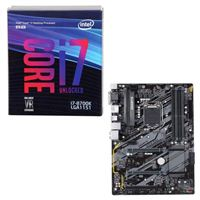 Intel Core i7-8700K, Gigabyte H370 HD3, CPU/Motherboard...