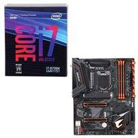 Intel Core i7-8700K, Gigabyte Z370 AORUS Ultra Gaming WiFi,...