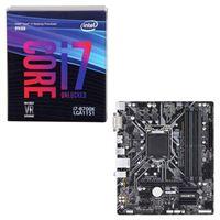 Intel Core i7-8700K, Gigabyte Z370M DS3H, CPU/Motherboard Bundle