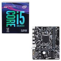 Intel Core i5-8600K, Gigabyte H310M A, CPU/Motherboard...