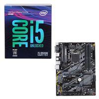 Intel Core i5-8600K, Gigabyte H370 HD3, CPU/Motherboard...