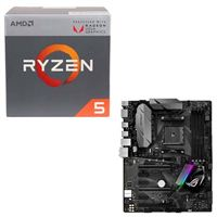AMD Ryzen 5 2400G with Wraith Stealth Cooler, ASUS ROG STRIX B350-F Gaming, CPU/Motherboard Bundle