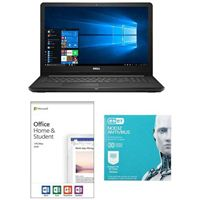 Dell Inspiron 15 3567, Office 2019 Home and Student, 3 Year NOD32 Antivirus Bundle