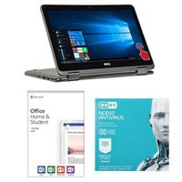 Dell Inspiron 11 3185, Office 2019 Home and Student, 3 Year NOD32 Antivirus Bundle