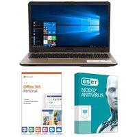 ASUS VivoBook Max X541NA-PD1003Y, 1 Year Office 365 Personal, 1 Year NOD32 Antivirus Bundle