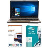 ASUS VivoBook Max X541NA-PD1003Y, 1 Year Office 365 Home, 1 Year NOD32 Antivirus Bundle