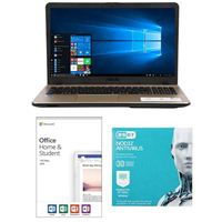ASUS VivoBook Max X541NA-PD1003Y, Office 2019 Home and Student, 3 Year NOD32 Antivirus Bundle