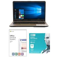 ASUS VivoBook Max X541NA-PD1003Y, Office 2019 Home and Student, 2 Year NOD32 Antivirus Bundle