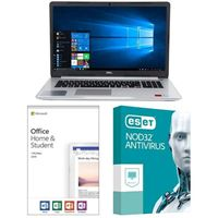 Dell Inspiron 15 5570 5395, Office 2019 Home and Student, 3 Year NOD32 Antivirus, Laptop Bundle