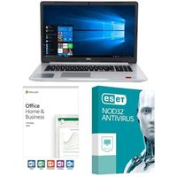 Dell Inspiron 15 5570 5395, Office 2019 Home and Business, 3 Year NOD32 Antivirus, Laptop Bundle