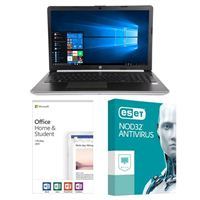HP 15-da0032nr, Office 2019 Home and Student, 3 Year NOD32 Antivirus, Laptop Bundle