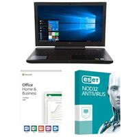 Dell G5 15 5587 5542, Office 2019 Home and Business, 3 Year NOD32 Antivirus, Laptop Bundle