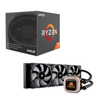 AMD Ryzen 7 2700, Corsair Hydro H150i Pro, CPU Water Cooling Bundle